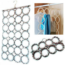 Multi Scarf Scarves Hanger Display Hang Ties Belt Organize Circle Storage Holder