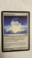 1x DAMPING MATRIX - Rare - Mirrodin - MTG - NM - Magic the Gathering