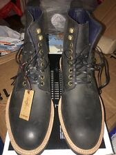 New DS Men's Cole Haan Vibram Gumlite Waterproof Boot Black Sz 8.5