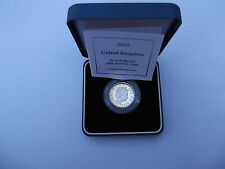 SILVER PROOF 1 ONE POUND COIN YEAR 2003 WITH COA
