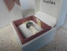 GENUINE AUTHENTIC PANDORA SILVER CLOVER/ SHAMROCK CHARM 791496CZN
