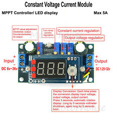MPPT Solar Controler 5A DC Step-down Constant Voltage Current Module LED Display