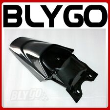 Black Plastic Rear Tail Mud Guard Fender KLX110 Style PIT PRO Trail Dirt Bike