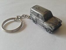 Austin A35 Van  3D split-ring keyring FULL CAR ref8