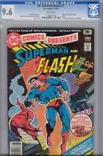 "DC Comics Presents #1  CGC 9.6 the Legenday Superman-Flash ""Race to the End..."