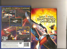 STAR TREK SHATTERED UNIVERSE PLAYSTATION 2 PS2 PS 2