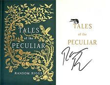Ransom Riggs~SIGNED~Tales of the Peculiar~1st/1st+Photos! Miss Peregrine's Home