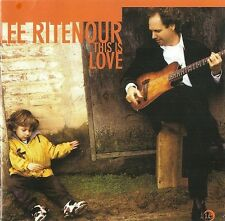Lee Ritenour - This Is Love - New Factory Sealed CD