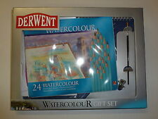 Derwent Watercolor Colored pencil Art Set of 24 & paper
