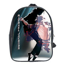 Michael Jackson King Of Pop Girls Mens Backpack School Notebook Purse Bags