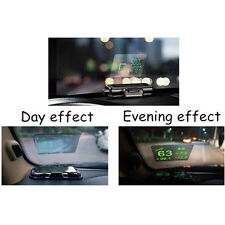 120*90mm Car Auto HUD Head Up Display Reflective Film Protector Easy Removed