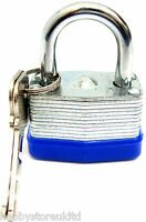 Outdoor Padlock Lock Waterproof Heavy Duty Padlock Steel Shackle Pad Lock 40mm