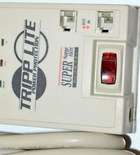 Tripp Lite Surge Suppressor w/modum/fax protection - 2100 Joules.