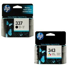 HP 337 & 343 originale OEM Cartucce Inkjet Per Officejet 6310,6313