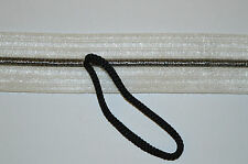 47mm WHITE KNITTED ELASTIC POLYESTER ELASTANE RIBBON WITH DRAW CORD CLEARANCE