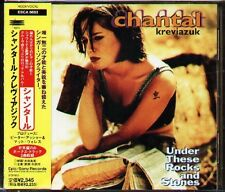 Chantal Kreviazuk - Under These Rocks - Japan CD+2BONUS - 15Tracks OBI