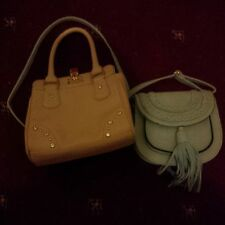 Blue leather cross-body bag & tote bag ( 2 bags )  BNB Christmas gift ideas!