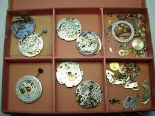 lot 7 ébauche Mouvement incomplet dont  Lemania 8815 & Eta 2895 2 watch  swiss 1