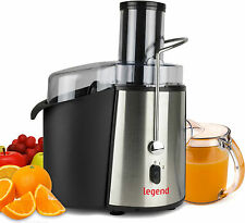 New Legend 850W Pro Whole Fruit Power Juicer Vegetable Citrus Juice Extractor