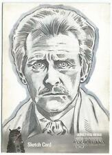 Dr Doctor Who Big Screen Additions Mono Sketch Card by Joe Corroney - The Doctor