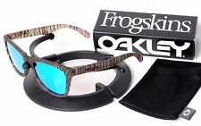 Oakley Urban Jungle Frogskins w/ Custom Emerald Blue Green Jade Polarized Lenses