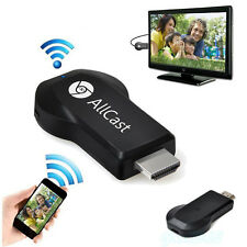 Allcast Wifi Display HDMI 1080P TV Dongle Receiver For Smartphone Laptop Black