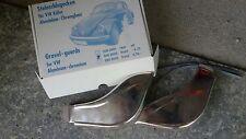 VW MAGGIOLINO BEETLE COX PARASASSI ANTERIORI GRAVEL GUARDS BUTOIR AILE AVANTS