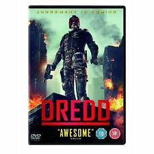 Dredd DVD Karl Urban Olivia Thirlby Pete New and Sealed Original UK Release R2