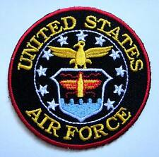 United States Air Force Army Military Embroidered Iron on Patch Free Postage