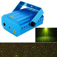 Mini Projector R&G DJ Disco Light Stage Xmas Party Club Laser Lighting Show HOT
