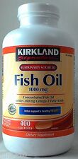 jlim410: Kirkland Signature Fish Oil, 1000mg, 400softgels 12/2018 cod ncr/paypal