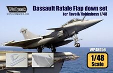 Wolfpack 1:48 Dassault Rafale Flap Set for Revell Hobbyboss Resin Detail WP48056