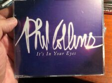PHIL COLLINS IT'S IN YOUR EYES   PROMO CD GERMAN RARE