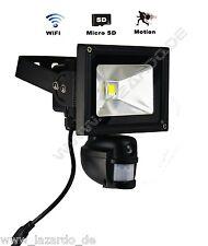 Wlan Kamera mit Bewegungsmelder Flutlicht dvr Überwachungskamera 10W Strahler