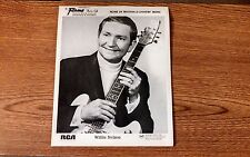 Authentic Vintage 8×10 Willie Nelson photo flame theater minneapolis