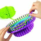Knitting Knitter Round 4 x Looms and 4 x Pompom Maker Craft Kit Sock Scarf Hat