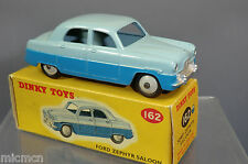 DINKY TOYS  MODEL No.162 FORD ZEPHYR SALOON  VN  MIB