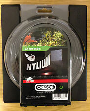 OREGON SQUARE NYLIUM strimmer trimmer brushcutter line 2.4mm x 60m IN STOCK