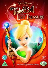 TINKERBELL PART 2 MOVIE FILM DVD AND THE LOST TREASURE Walt Disney Original New