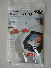BRAND NEW Living Solutions Large Clear Vacuum Bag - Travel Storage