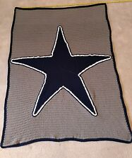 Dallas Cowboys crochet blanket
