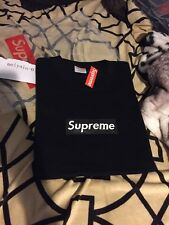 Supreme box logo Tee Black size XLarge kanye west