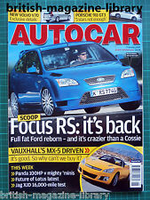 Autocar 7/2/2007 Road Test: Porsche 911 997 GT3 Fiat Panda 100HP Melling Hellcat