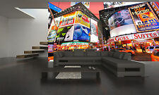 Times Square 1  Photo Wallpaper GIANT WALL  POSTER  FREE ADHESIVE PAPER POSTER