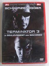 DVD TERMINATOR 3 : LE SOULEVEMENT DES MACHINES - Arnold SCHWARZENEGGER - NEUF