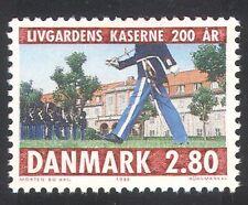 Denmark 1986 Military/Army/Life Guards/Barracks/Buildings 1v (n34616)