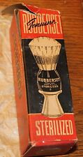 VINTAGE RUBBERSET SHAVING BRUSH w/ BOX