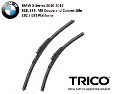 Trico Wiper Blade Pair Set for BMW 328 335 M3 3-Series Coupe E92 LCI 2010-2012