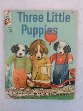 Ruth Dixon THREE LITTLE PUPPIES A Real Live Animal Book 1961 ROOKS Photos