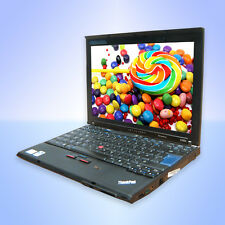 Lenovo ThinkPad X200 Core2 Duo P8400 2,26Ghz 4GB 160GB Windows7 WLAN BT+Docking